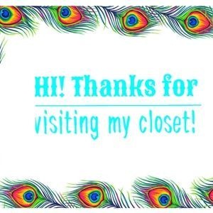 🎉💖 THANKS FOR VISITING MY CLOSET! Please read!
